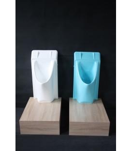 Urinoir sans eau et sans odeur - Coloris RAL en option
